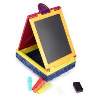美国B.Toys旅行小画家便携绘画架 绘画板 郊游写生画架 宝宝黑板