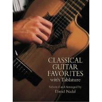 【预订】Classical Guitar Favorites with Tablature