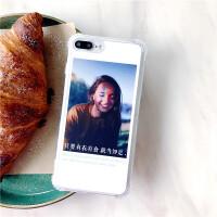苹果6splus手机壳潮牌女iPhone7套8x硅胶全包7p气囊防摔8p情侣男新款6sp个性创意文字ix6s六