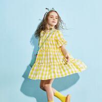 【夏新3件3折:99】巴拉巴拉旗下儿童裙子女童百褶连衣裙公主2020夏装新款洋气女