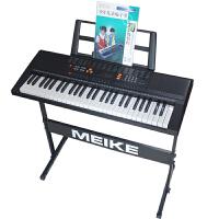 永美电子琴儿童成人54键初学入门联系演奏教学电子琴仿标准钢琴键套装配架子YM-568