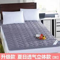 立体法莱绒加厚榻榻米床垫床褥子1.5米1.8m地铺睡垫