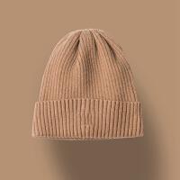 秋冬保暖复古毛线针织帽情侣帽男士包头帽