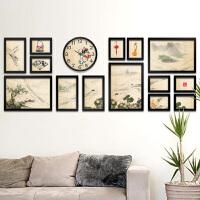 中式客厅装饰相框墙相框创意挂墙