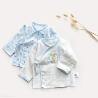 和尚服纱布宝宝内衣上衣婴幼儿空调服睡衣