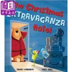【中商原版】Tony Neal:圣诞酒店The Christmas 精品绘本TonyNeal