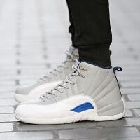 DAZED CONFUSED2017新款秋冬季篮球鞋男气垫减震防滑透气高帮学生运动鞋休闲潮