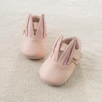 戴维贝拉春季新款羊皮革真皮宝宝婴儿步前鞋DB6985