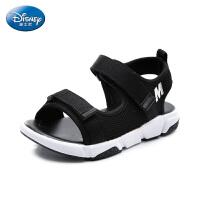 迪士尼Disney童鞋2018新款儿童凉鞋莱卡网面 男童沙滩鞋时尚休闲鞋 (9-13岁可选) S73998