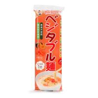 日本原产 妙谷南瓜胡萝卜味 细蔬菜面 婴幼儿宝宝营养辅食面条