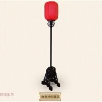 中式落地灯中式灯古典落地灯手绘仿古宫灯婚庆路引客厅卧室电影道
