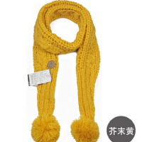 男女秋冬百搭时尚冬天韩版毛线围巾手工男女围巾