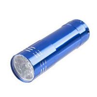 迷你 9灯LED强光手电筒 颜色随机