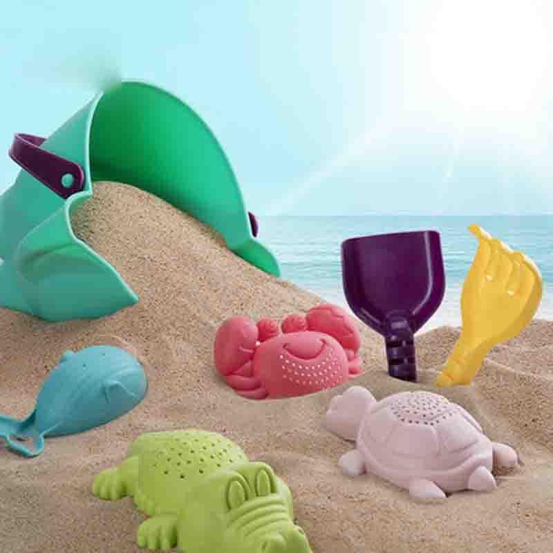 挖沙铲子工具宝宝戏水洗澡 儿童沙滩玩具套装玩沙子决明子