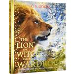 纳尼亚传奇英文原版小说 青少年 The Lion the Witch and the Wardrobe 大厚本全彩绘本