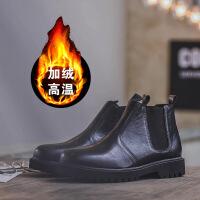 DAZED CONFUSED秋冬季男马丁靴男英伦高帮男鞋切尔西靴男靴子潮