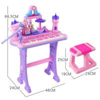 儿童电子琴带麦克风1-3-6岁5女孩贝芬乐音乐小孩宝宝初学钢琴玩具