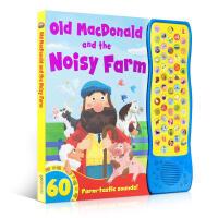 英文原版绘本 Old MacDonald and The Noisy Farm 麦当劳的农场经典儿歌发声儿童0-3-6