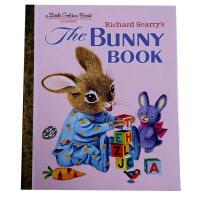 【全店300减100】英文原版The Bunny Book兔子的书大师斯凯瑞作品儿童入门早教书籍