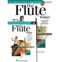 【预订】Play Flute Today! Beginner's Pack: Book/CD/DVD Pack