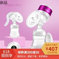 吸奶器手动电动两用挤奶器静音一体式自动拔奶器产妇吸乳器