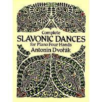 【预订】Complete Slavonic Dances for Piano Four Hands
