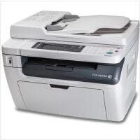 富士施乐(Fuji Xerox) M218fw 黑白激光无线多功能一体机 (打印 复印 扫描 传真) U盘直接打印、扫描无需连接电脑 双网络连接 惠普M1218NFS hp m128fw