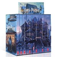 【全店300减100】英文原版小说 哈利波特 Harry Potter 1-7美版全集 进口正版图书 奇幻小说 JK罗琳