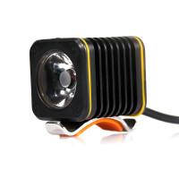 自行车灯户外探险T6强光夜骑山地车前灯 防水充电式骑行装备配件不含