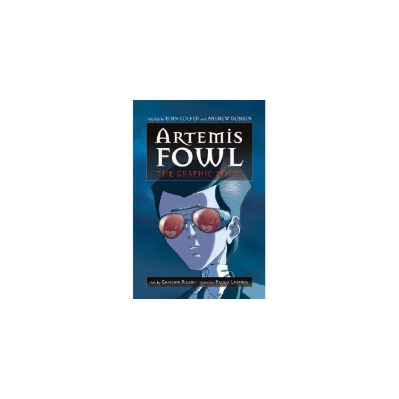 【预订】Artemis Fowl: The Graphic Novel 美国库房发货,通常付款后3-5周到货!