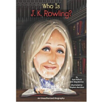 【现货】英文原版 Who Is J.K. Rowling? JK罗琳是谁 名人认知系列 中小学生读物