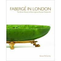 【预订】FABERGE IN LONDON 珠宝品牌法贝热在伦敦 珠宝首饰艺术书籍