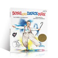 英文原版 Song and Dance Man 蜻蜓系列:唱歌与跳舞的先生 1989年凯迪克金奖