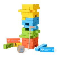 儿童叠叠高大号层层叠抽积木叠叠乐版桌游玩具3-6周岁