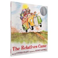(凯迪克银奖)The Relatives Came 亲朋自远方来 英文原版童书绘本 启蒙阅读早教训练英语儿童睡前故事图