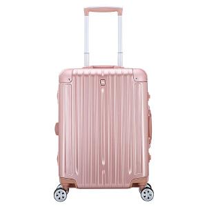 爱华仕拉杆箱女20寸铝框拉杆旅行行李箱24寸男万向轮登机箱