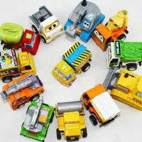 哈比比玩具 2176儿童玩具车模型回力小汽车工程车系列套装小孩男女宝宝礼物