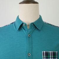 柜子剪标出品男士时尚休闲青年衬衫男长袖春秋薄款拼色衬衣潮