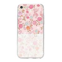iphone6手机壳苹果8plus透明软壳浮雕i7p保护套碎花硅胶6s情侣外壳