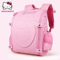 Hello Kitty凯蒂猫 KT1008C粉红 韩版幼儿园书包大班护脊儿童书包 当当自营