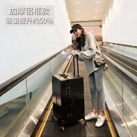 kuansen行李箱ins网红女抖音旅行箱大容量学生拉杆箱子男万向轮韩版潮