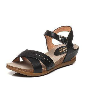 BATA/拔佳夏季专柜同款小牛皮女凉鞋AB405BL6