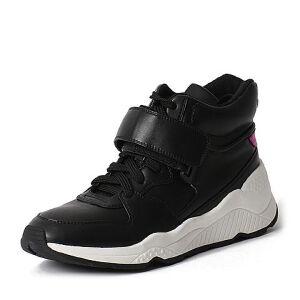 Teenmix/天美意专柜同款PU/羊皮女休闲靴6R742DD6