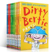 英文原版脏小弟Dirty Bertie系列 1-10本10本套装 趣味有意思的读物 Dirty Bertie - Wo