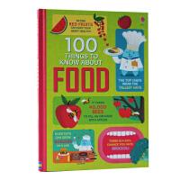 原版英文 100 things to know about food关于食物的100件事 图书亲子互动英语绘本故事书