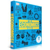 英文原版 DK出版社经济学百科图解 The Economics Book DK人类的思想百科丛书 全彩精装 Big I