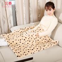 护膝毯小电热被暖身毯办公室毛毯加热坐垫电暖盖腿可拆洗单人