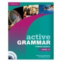 【预订】Active Grammar Level 3 Without Answers [With CDROM]
