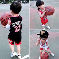 男童夏装新款套装宝宝短袖夏季童装儿童篮球服小孩运动两件套