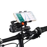 自行车手机架导航支架灯架二合一山地摩托电动车通用骑行装备配件